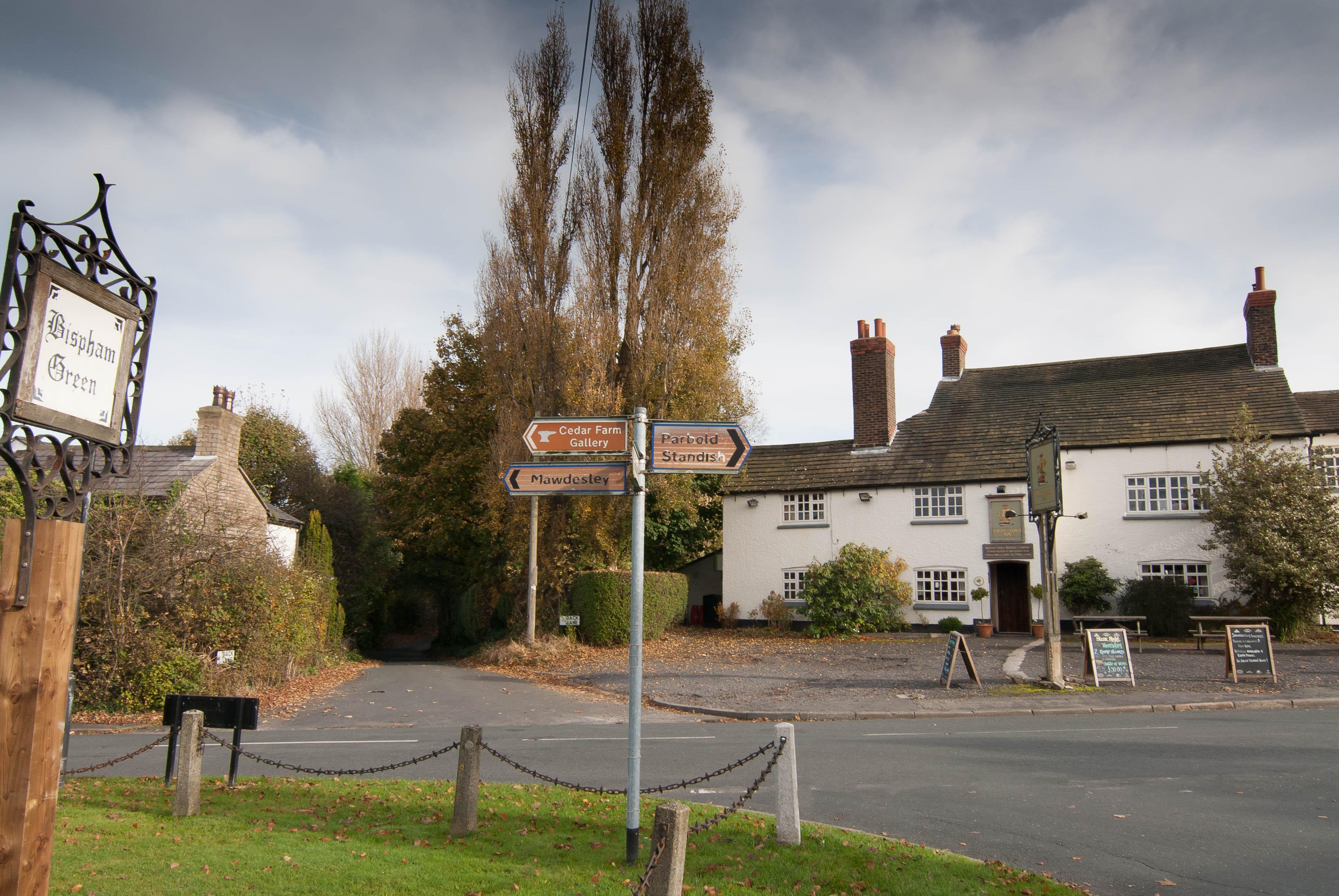 Mawdesley village